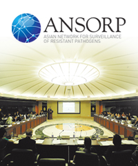 asian network for surveillance of resistant pathogens